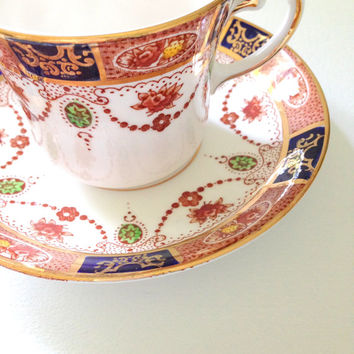 English Bone China Colclough Tea Cup and Saucer Tea Party