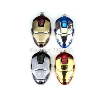 Marvel Comic Iron man Mask Keychain Vintage Metal and Plastic Pendant For Women and Men fans 4 Colors New Arrival Key Chain