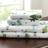 Dino's Attack Sheeting | Pottery Barn Kids