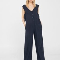 Pocket flowy jumpsuit
