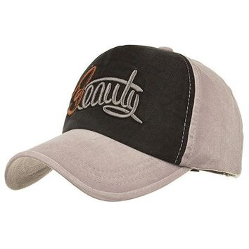 23.4'' Washed Baseball Cap Faded Effect  Hat