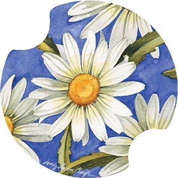 Thirstystone Lazy Daisy Car Cup Holder Coaster 2Pack