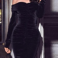 Applause Velvet Dress