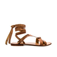 Oliviera Wrap Sandal in Tan
