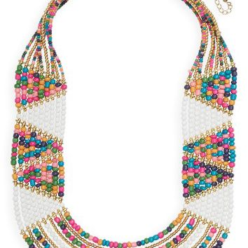 Panacea Beaded Statement Necklace | Nordstrom
