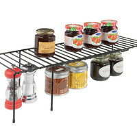 Expanding Helper Shelves | Kitchen Cabinet Organization | Rubbermaid
