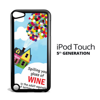Up And Go Balloon House Y2715 iPod Touch 5 Case