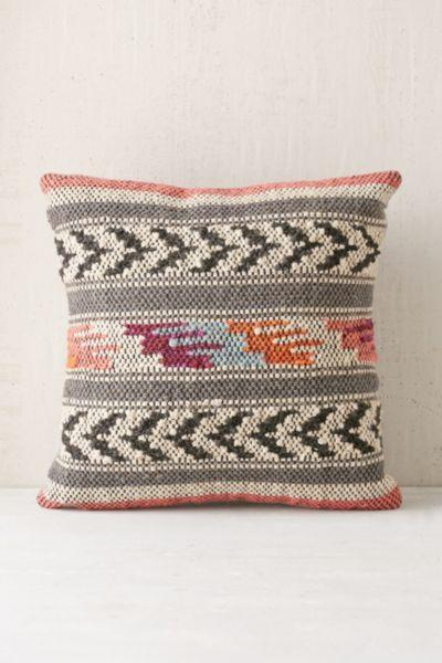 Home Outfitters Decorative Pillows : Magical Thinking Ixtapa Woven Pillow from Urban Outfitters Home