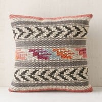 Magical Thinking Ixtapa Woven Pillow- Orange One