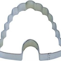 "R&M Beehive 4"" Cookie Cutter in Durable, Economical, Tinplated Steel"
