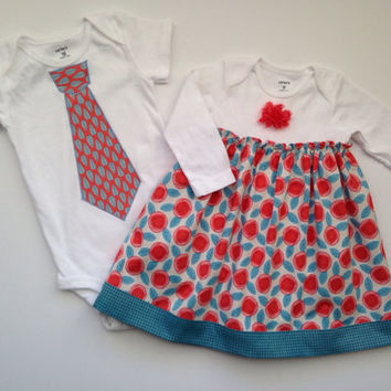 Sibling Outfits for Spring, Sibling Easter Outfits, Easter Twins Onesuit, Matching Sibling Outfits, Brother Sister Outfit