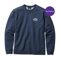 Patagonia Men's Fitz Roy Crest Midweight Crew Sweatshirt | Painter's Blue