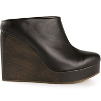 Sydney Brown wedge clogs