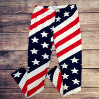 LET FREEDOM RING LEGGINGS