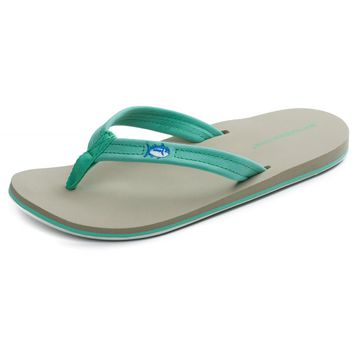 Women's Weekend Flipjacks in Mint by Southern Tide