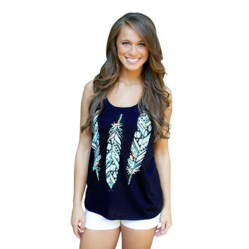 Best Deal New Fashion Casual Women Sexy Halter Vest Female Printed Vest Printed Tops With Leaves Size S-XL Gift 1PC