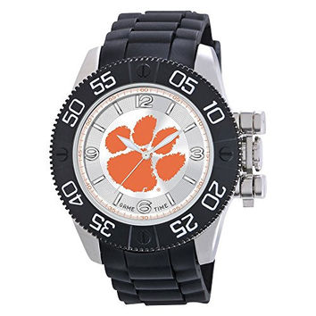 Mens Clemson University Beast Watch, Best Quality Free Gift Box Satisfaction Guaranteed