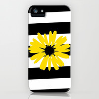 Sunflower Love iPhone & iPod Case by Pink Berry Pattern