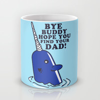 Mr Narwhal Mug by LookHUMAN | Society6