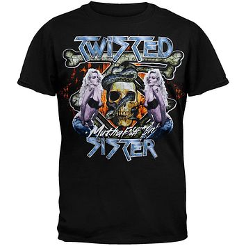 Twisted Sister - Chick Skull T-Shirt