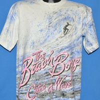 90s Beach Boys Catch A Wave All Over Print t-shirt Large