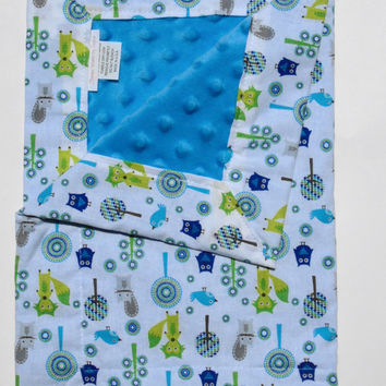Small baby blanket,Lovey Blanket,Minky Security Blanket,Blanket,Baby Lovey,New Baby,Minky Blanket,Baby Shower Gift,Toddler Blanket