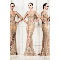 zuhair murad - embellished tulle gown