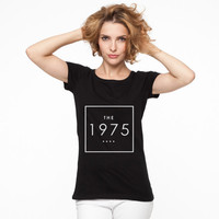 The 1975 band Box Logo T shirt Women and Men all Size