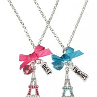 Bff Eiffel Tower Necklaces | Girls Necklaces Jewelry | Shop Justice