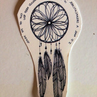 Temporary Tattoo Quote Dreamcatcher by BlueHazelwood on Etsy