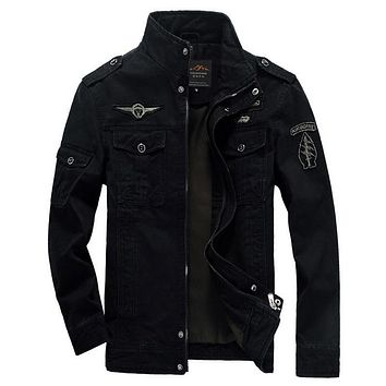 Trendy Men Jacket Winter Military Army Bomber Jackets Jaqueta Masculina Plus Size 6XL Coat Mens Denim Jacket for Male Jacket AT_94_13