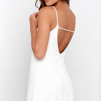Won Way Street Ivory Dress