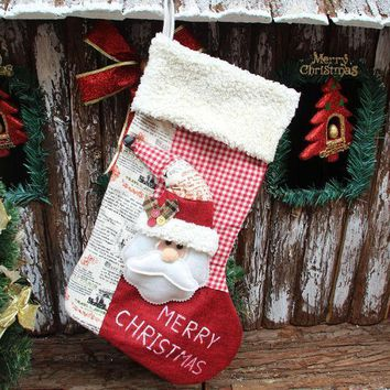 Christmas Decoration Luxury Gift Socks [9199618756]