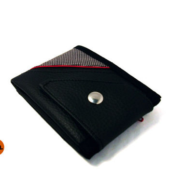 Vegan Wallet for Man, for Woman, Slim Wallet, Billfold Wallet, Bifold Wallet with Coin Pocket Card Holder - UNUSUAL Wallet