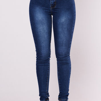 Supernatural High Rise Jeans - Dark Wash