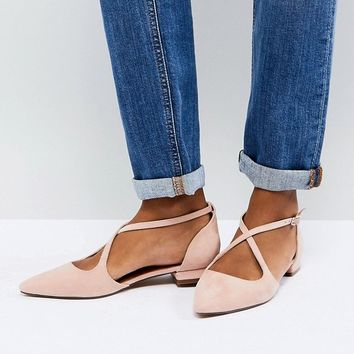 ASOS LIBERTINE Pointed Ballet Flats at asos.com