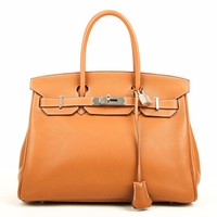 HERMES BIRKIN 30 GOLD BAG