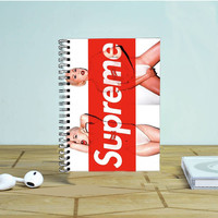 Supreme Lady Gaga Photo Notebook Auroid
