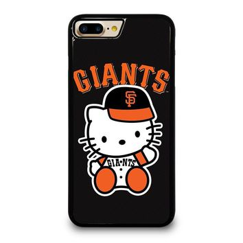 HELLO KITTY SAN FRANCISCO GIANTS iPhone 4/4S 5/5S/SE 5C 6/6S 7 8 Plus X Case