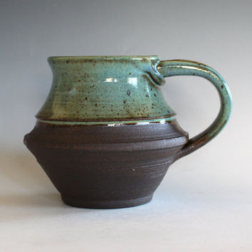 Unique Coffee Mug, 20 oz, LARGE Mug, , handthrown ceramic mug, stoneware pottery mug, ceramics and pottery, pottery mug