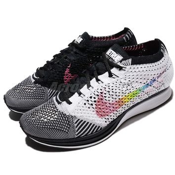 "Nike Flyknit Racer ""Be True"" LGBT Multi-Color 2017 Limited Men Women 902366-100"