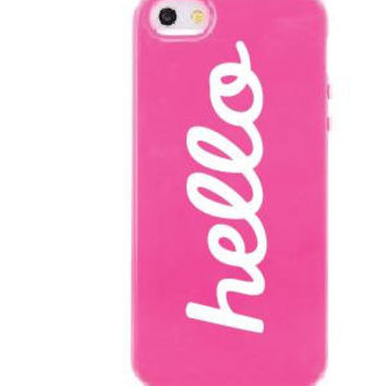 "3.5"" Hello iPhone sticker vinyl decal"