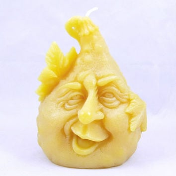 Beeswax Gourd Candle Beeswax Candle Gourd Candle Beeswax Candle Thanksgiving Candle Halloween Candle Fall Decoration