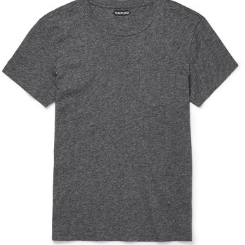 TOM FORD - Mélange Cotton-Jersey T-Shirt