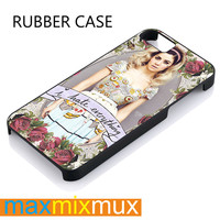 Marina And The Diamonds iPhone 4/4S, 5/5S, 5C, 6/6 Plus Series Rubber Case
