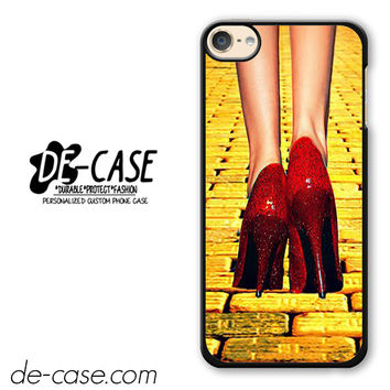 Yellow Brick Road Dorothy Wizard Of Oz Inspired Cute Ruby Red DEAL-12122 Apple Phonecase Cover For Ipod Touch 6