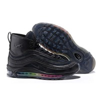 Best Online Sale Riccardo Tisci x Nike Air Max 97 Mid Black Colour Sport Running Shoes