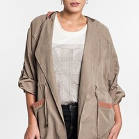 Plus Size Soft Shell Jacket