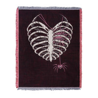"AJ Lee ""Til Your Last Breath"" Jacquard Throw Blanket"