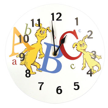 Wall Clock - Dr. Seuss Abc
